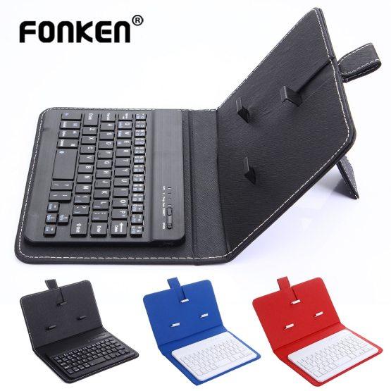 FONKEN Wireless Bluetooth Keyboard For Iphone Huawei Xiaomi
