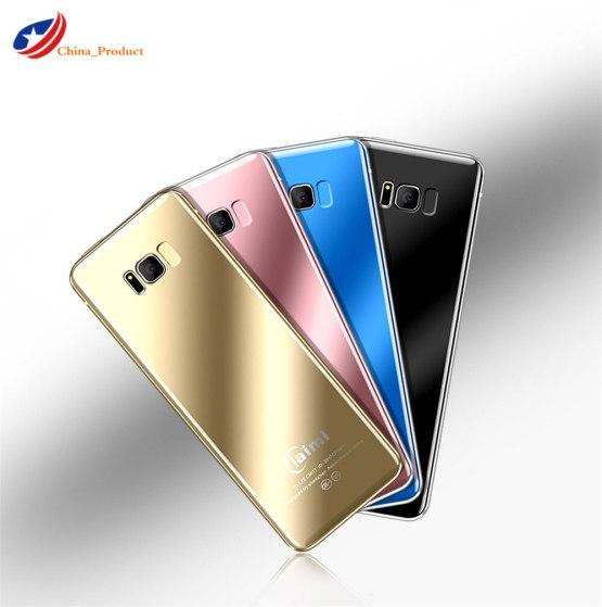 Ultra thin Card Mobile Phone Fsmart Taiml S8 bluetooth dialer 1.54'' Child Pocket Small flashlight Cellphone pk v36 v66 230
