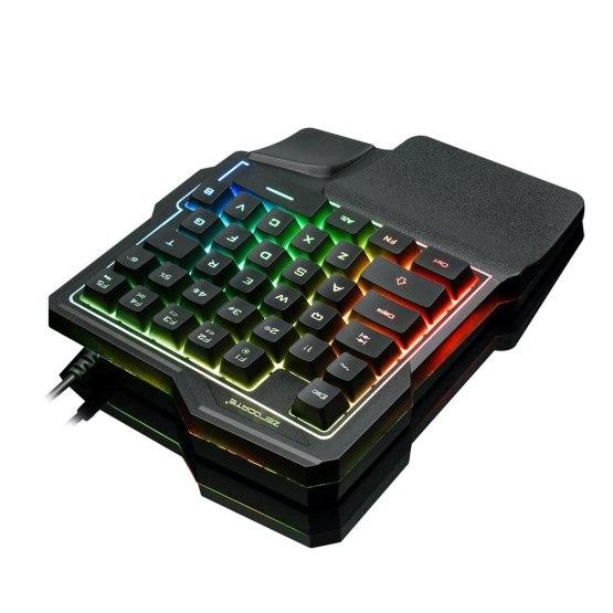 K7 One-handed Mechanical Feel 35-key Light Mobile Phone Tablet