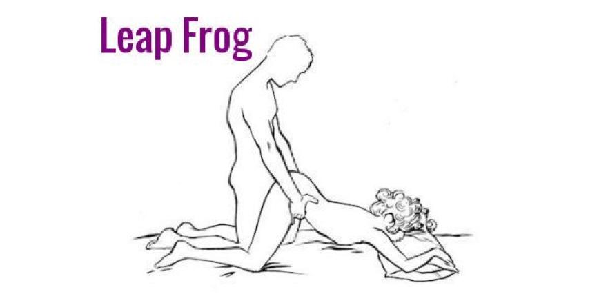 Leap Frog Sex Position