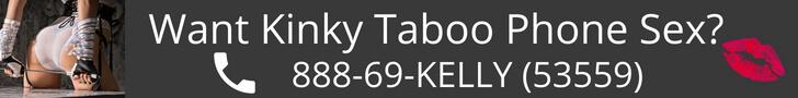 Kinky Taboo Phone Kelly Banner