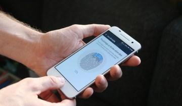 using fingerprint phone lock
