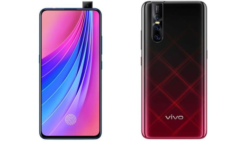 Vivo v15 pro front and back