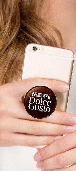 cheap promotional pop phone socket grip