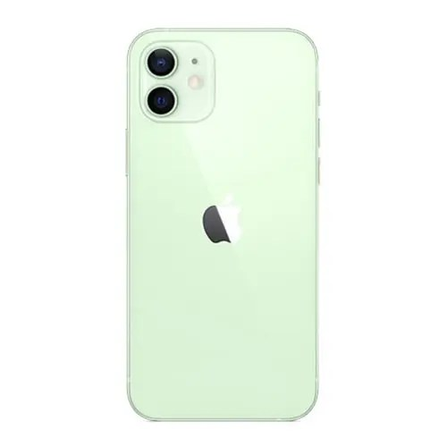 The back of iPhone 12 green color