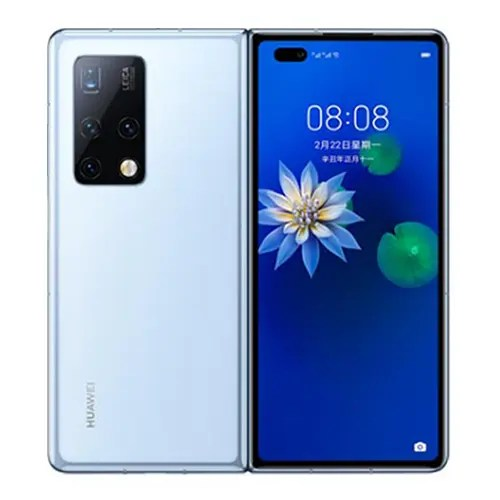 Huawei Mate X Front and White back image