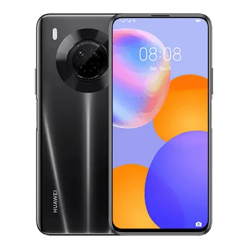 Huawei Y9a Front and back display image
