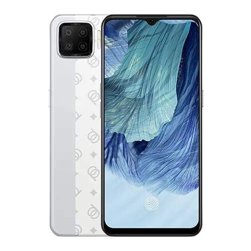 OPPO A73 front and White back