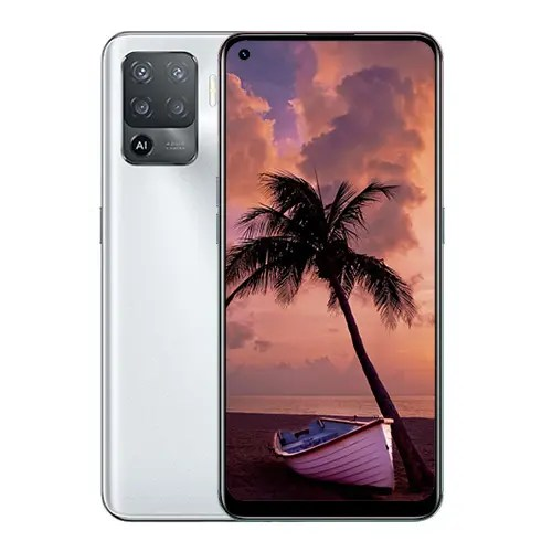 OPPO F19 Pro front Display and Silver back