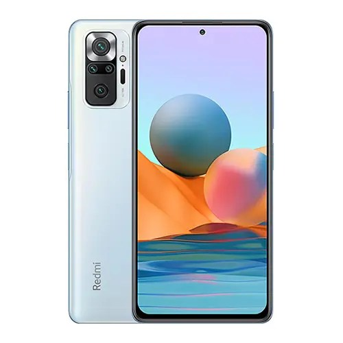 Xiaomi Redmi Note 10 Pro Max front and back