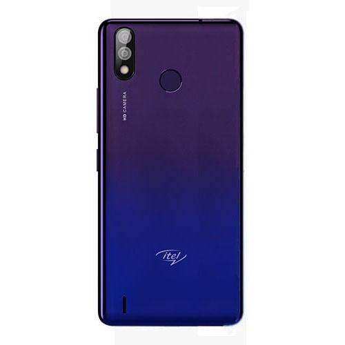 Itel P33 Plus Purple back