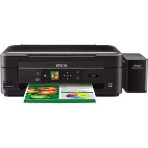 Epson EcoTank L455 All-in-One Wireless Printer Front Display