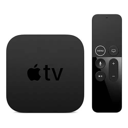 Apple TV 4K 64GB Front Side with Remote Display