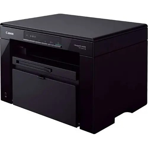 Canon i-SENSYS MF3010 MFP Laser Printer Side and Front Display