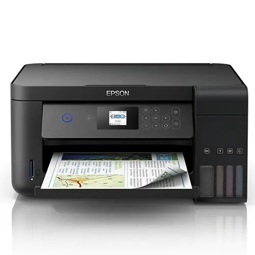 Epson L4160 Wi-Fi Duplex All-in-One Ink Tank Printer Front Display