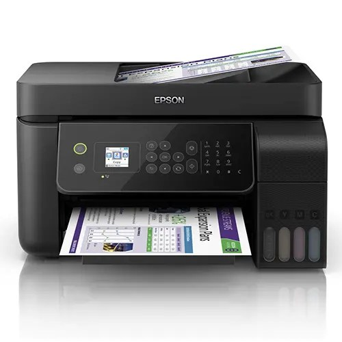 Epson L5190 Wi-Fi All-in-One Ink Tank Printer with ADF Front Display