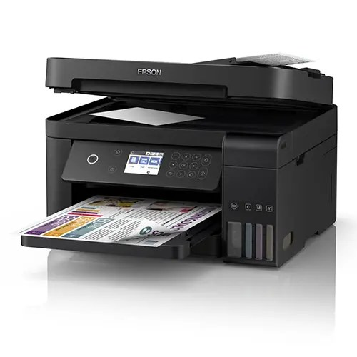 Epson L6170 Wi-Fi Duplex All-in-One Ink Tank Printer with ADF Side Display Black