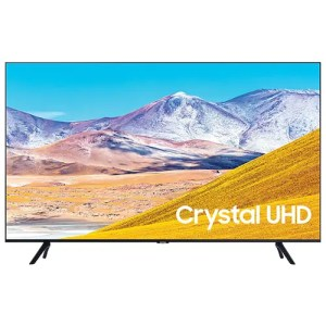 "Samsung [55TU8000] 55"" inch Crystal UHD 4K Smart TV Front Display"