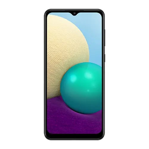 Samsung galaxy A02 front Display