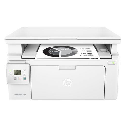 HP LaserJet Pro MFP M130a Printer Front Display