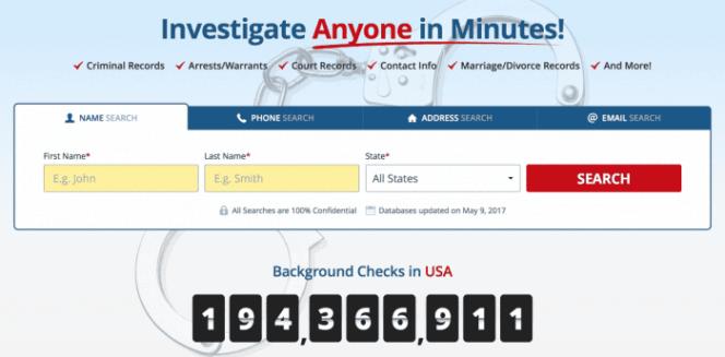 Investigate anyone