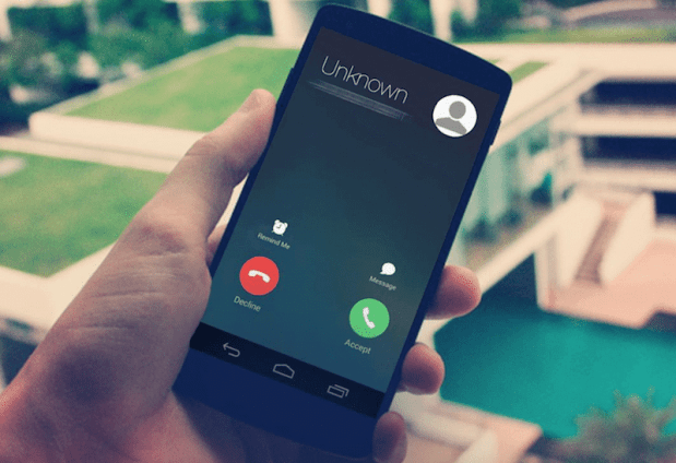 Changing the Android Caller screen