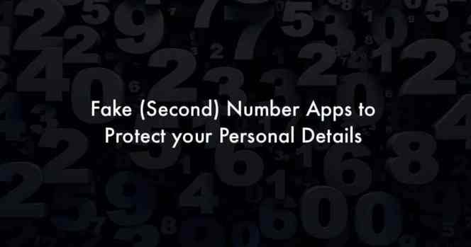 Call private with second phone number apps