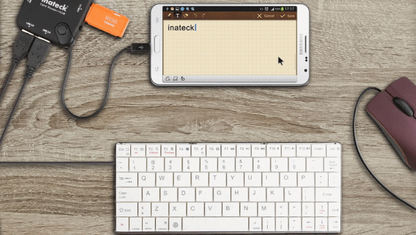 Android — Connect Mouse and Keyboard