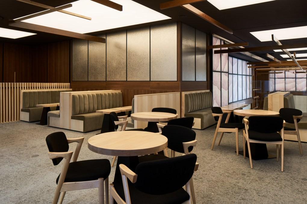 Thiết kế nội thất nhà hàng Nhật Bàn 1