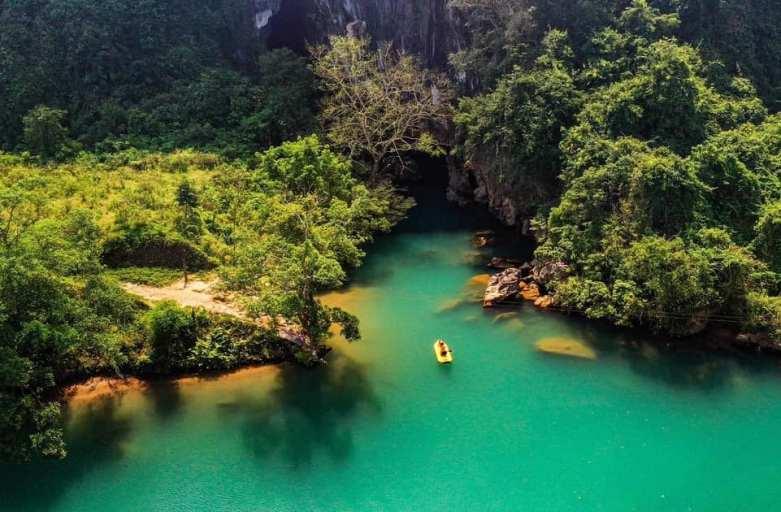 Tour Động Thiên Đường – Sông Chày – Hang Tối