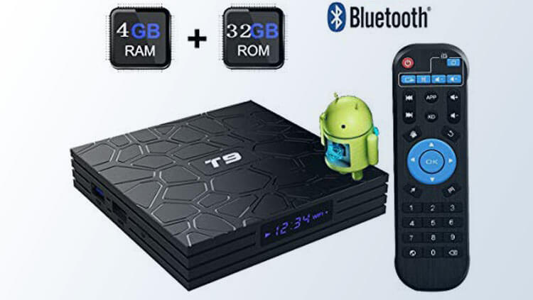 Đầu Android TV T9 Pro