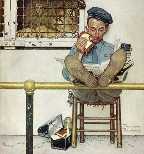 Norman Rockwell food illustration, Norman Rockwell food advertising illustration, Norman Rockwell editorial food illustration, food in focus, american food Norman Rockwell illustration, hand food illustration norman rockwell, food brand advertising illustration norman rockwell, food illustration inspiration norman rockwell, retro vintage food illustration, capturing passing food moments, food textures colors shapes, food illustrator, food applied arts inspiration, food creative inspiration, influential food commercial artist illustrator
