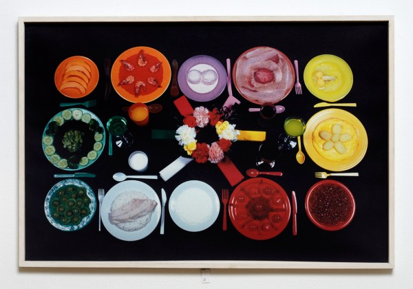 """Sunday"" by Sophie Calle. From the series The Chromatic Diet"