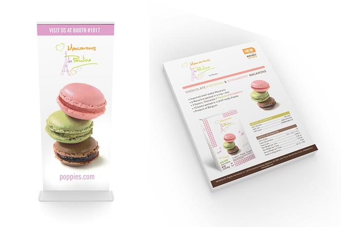 Marketing Materials Shelf Macaroons Creative Food Photography Job