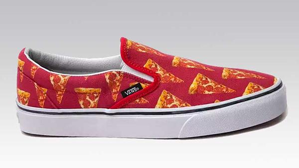 Vans Pizza Textile Design Creative Food Job