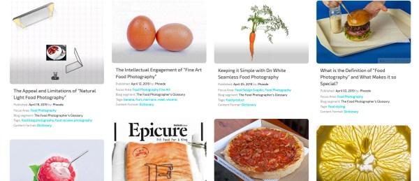 professional food photography blog, phoode food photography blog segments; professional food photography blog; international food photography community; food photographers creatives network website, the food photographers glossary
