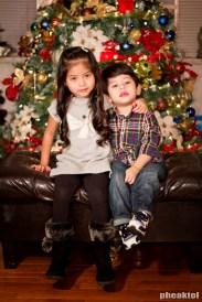 My niece and nephew.