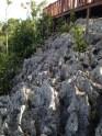 Batuan karang di gugusan pulau Piaynemo, Raja Ampat
