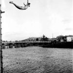 1938年頃 江見写真場 《神伝流プール》