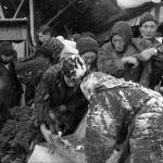 撮影年不明 石橋寿子『北と東の人間録』《朝市》