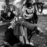 1970年頃 蔵原輝人《わらび座の舞台、鬼剣舞》
