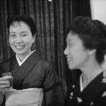 1962年 中島健蔵 《有吉佐和子,杉村春子》