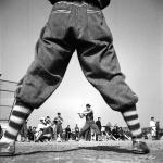 1950年頃 吉田 潤『戦後フォーカス293』《東急フライヤーズの練習風景》