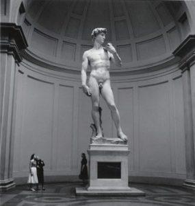 イタリア フィレンツェ ダビデ像 1956年
