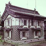 1960年代 高井潔 新潟県長岡市 《サフラン酒造の土蔵》