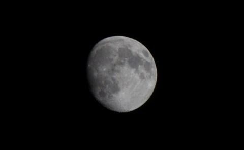 EOS 60Dで月の写真