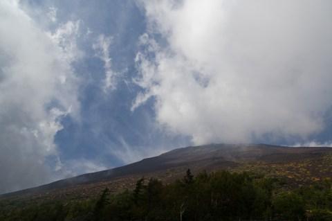 富士山(五合目から)