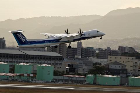 飛行機(伊丹空港)