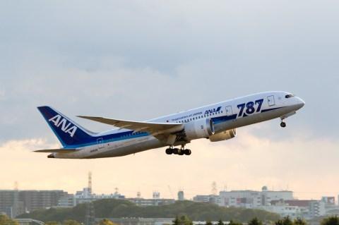 飛行機(伊丹空港) B787