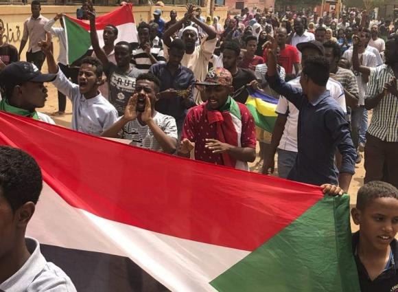 Sudan Activists Protest 2019 Transfer of Power to Military, Police Disperse Demonstrators